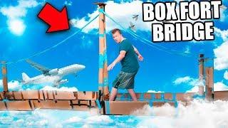 BOX FORT BRIDGE CHALLENGE!! 📦