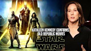 Star Wars! Kathleen Kennedy Confirms Old Republic Movies In Development (Star Wars News)