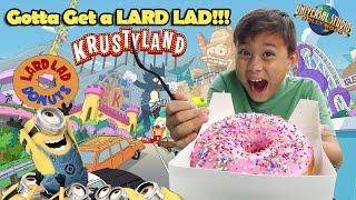 Gotta Get a LARD LAD DONUT!!! Universal Studios DAY 4 with the Minions!