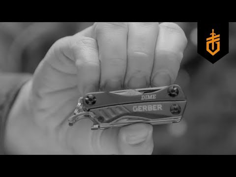 Gerber Dime Multi-Tool (Purple)