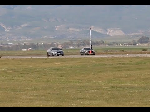 BMW M3 Races a Mercedes-Benz AMG at Shift-S3ctor Coalinga 2016