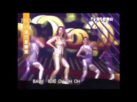 2013 HITO流行音樂獎 - 李玟 首唱新歌「叩叩」