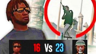 Trash Talker Gets EXPOSED In a 1v1 (GTA 5 Online)