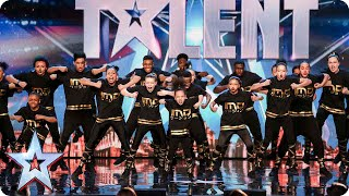 Watch dancers IMD Legion get into their groove | Britain's Got Talent 2015
