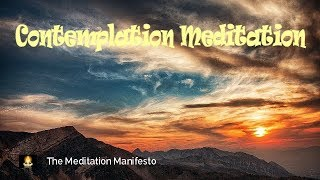 Soothing Contemplation Music, Deep Sleep Meditation, Relaxing