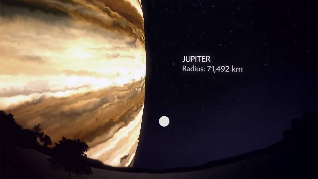 planets and moon distance - photo #22