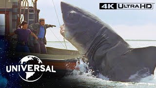 Jaws | Final Face-Off With the Shark in 4K Ultra HD