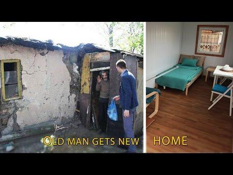 Новиот дом на дедото бездомник