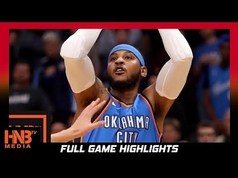 Oklahoma City Thunder vs New York Knicks