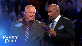Can Mike get 94 points for $20K? | Family Feud