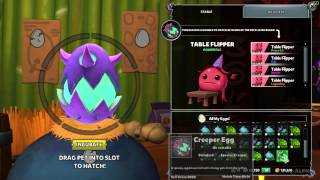 Dungeon Defenders 2: Egg Transform Plus Hatching New Pet Kakarot & Table Flipper!!