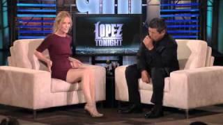 Leslie Mann at Lopez Tonight