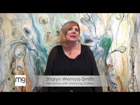 Sharyn's history with Manyung Gallery