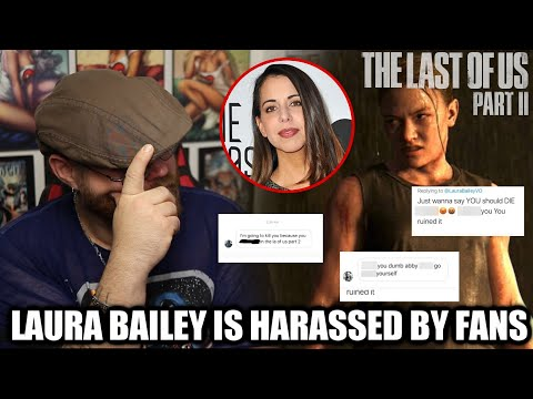 """The Last of Us 2 Actor Laura Bailey """"Abby"""" is Being Harassed by Fans!!!!"""