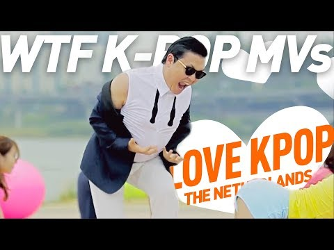 10 WTF K-POP Music Videos