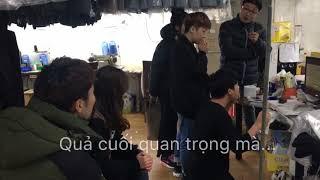 Cảm xúc người Hàn Quốc khi Việt Nam vào bán kết - Khoảnh khắc đá phạt đền