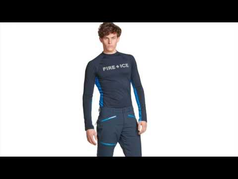 Bogner Ted Mens First Layer Top in Navy