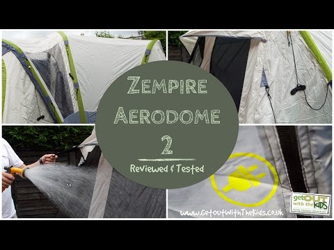 video Zempire Aerodome 2 Inflatable Tent