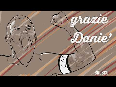 VIDEO - Brusco saluta De Rossi con una canzone: