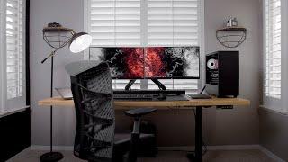 My New Desk Setup - 2021 Workspace Tour