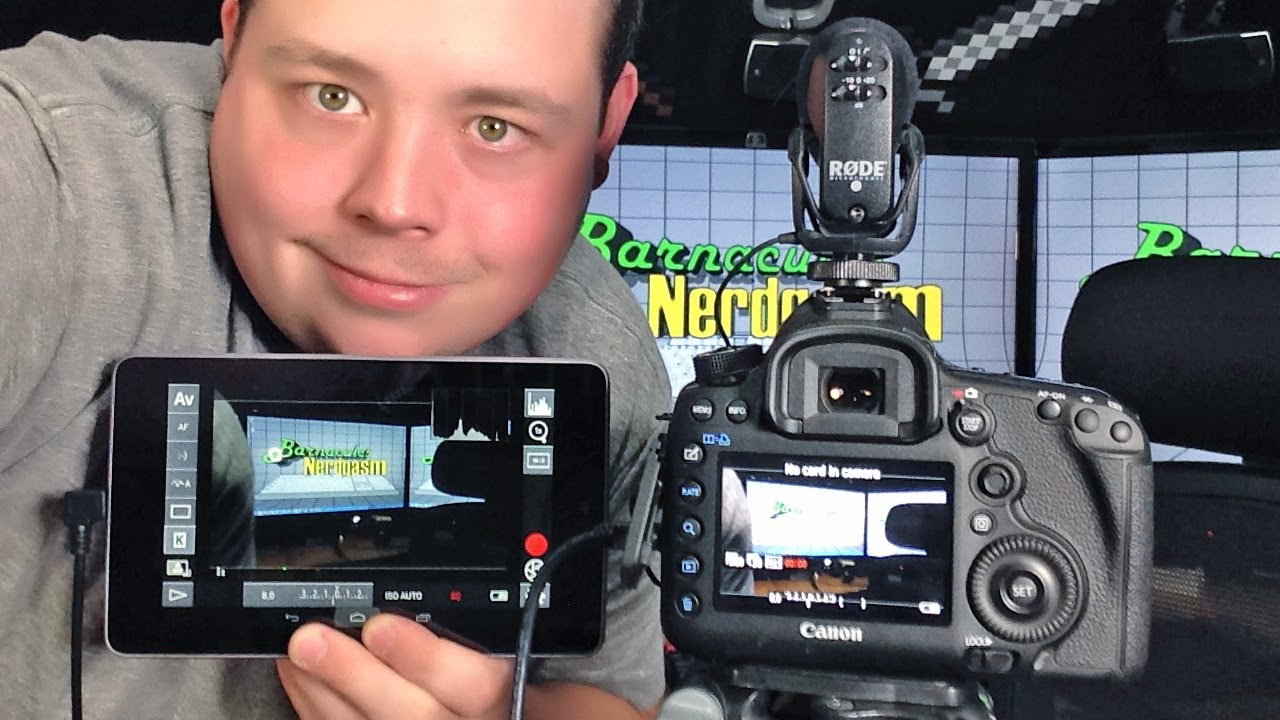 Remote Control My Canon 5d Mark Iii W Dslr Controller On