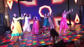 Punjabi wedding song   Hasee Toh Phasee   Kriya Wedding & Sangeet Choreography
