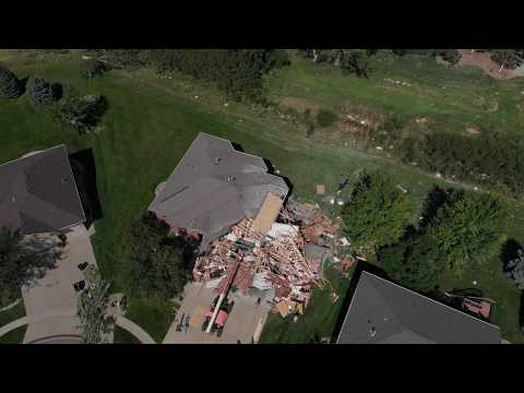 Sioux Falls Tornado Damage #2, Sept 11 2019