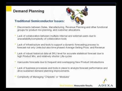 Demand Planning For Semiconductor Industry