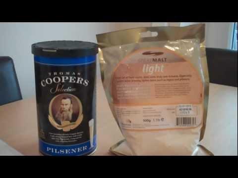 Coopers Selection Pilsner Beer Kit