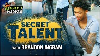 Secret Talent with Brandon Ingram: Undercover Sketch Artist