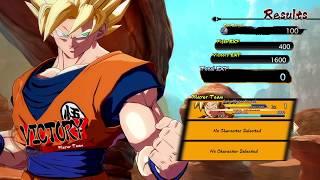 DRAGON BALL FighterZ Story Mode- Battles