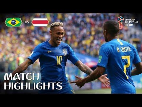 Brasil vs Costa Rica
