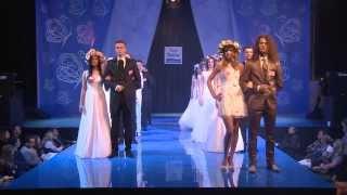 Pokaz mody ślubnej firmy Trend - Międzyplanetarne Targi Ślubne Spodek 2014