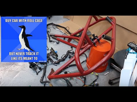 RX7 Roll Cage Removal. Harness Update - Wide Body V8 FD RX7 Build Video Series 12
