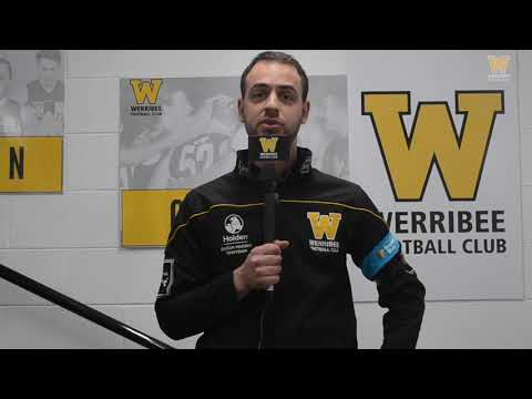 James Canale: Round 19 post-game (Werribee vs Box Hill)