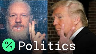 Julian Assange Lawyers Say Trump Offered Pardon Over DNC Hack If He 'Played Ball'