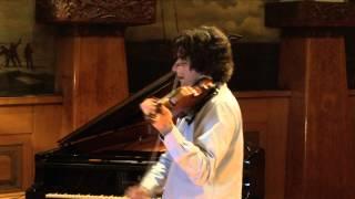 """Philippe Quint/Ysaye Sonata no 3 """"Ballade"""" -Vieuxtemps Del Gesu"""