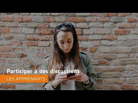 Naviguer dans Environnement d'apprentissage de Brightspace - Participer à des discussions