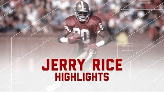 Jerry Rice: The Greatest of All Time | NFL Legend Highlights