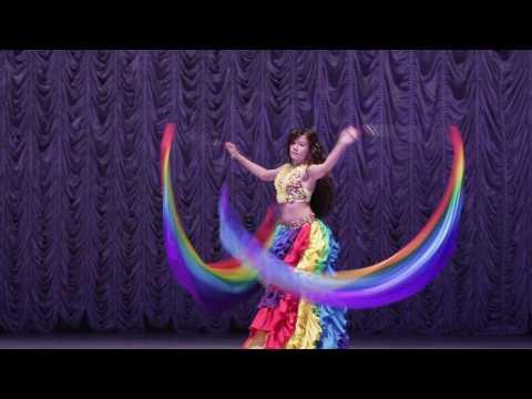 восточный танец с поями Нестерук Екатерина