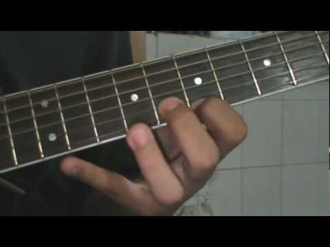 Tutorial Guitarra La Canción del Mariachi - Antonio Banderas (3/6)
