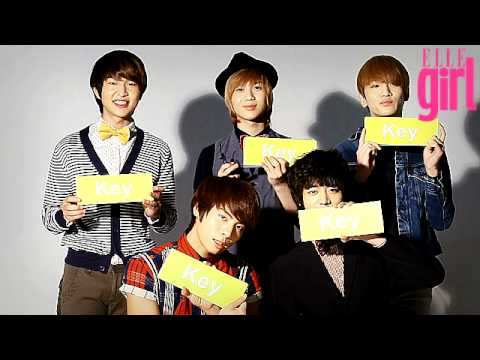 【ELLE TV JAPAN】SHINee × ELLEgirl 独占ムービーvol.2