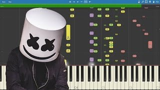 IMPOSSIBLE REMIX - Marshmello - Alone - Piano Cover