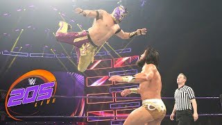 Kalisto vs. Tony Nese: WWE 205 Live, July 10, 2018
