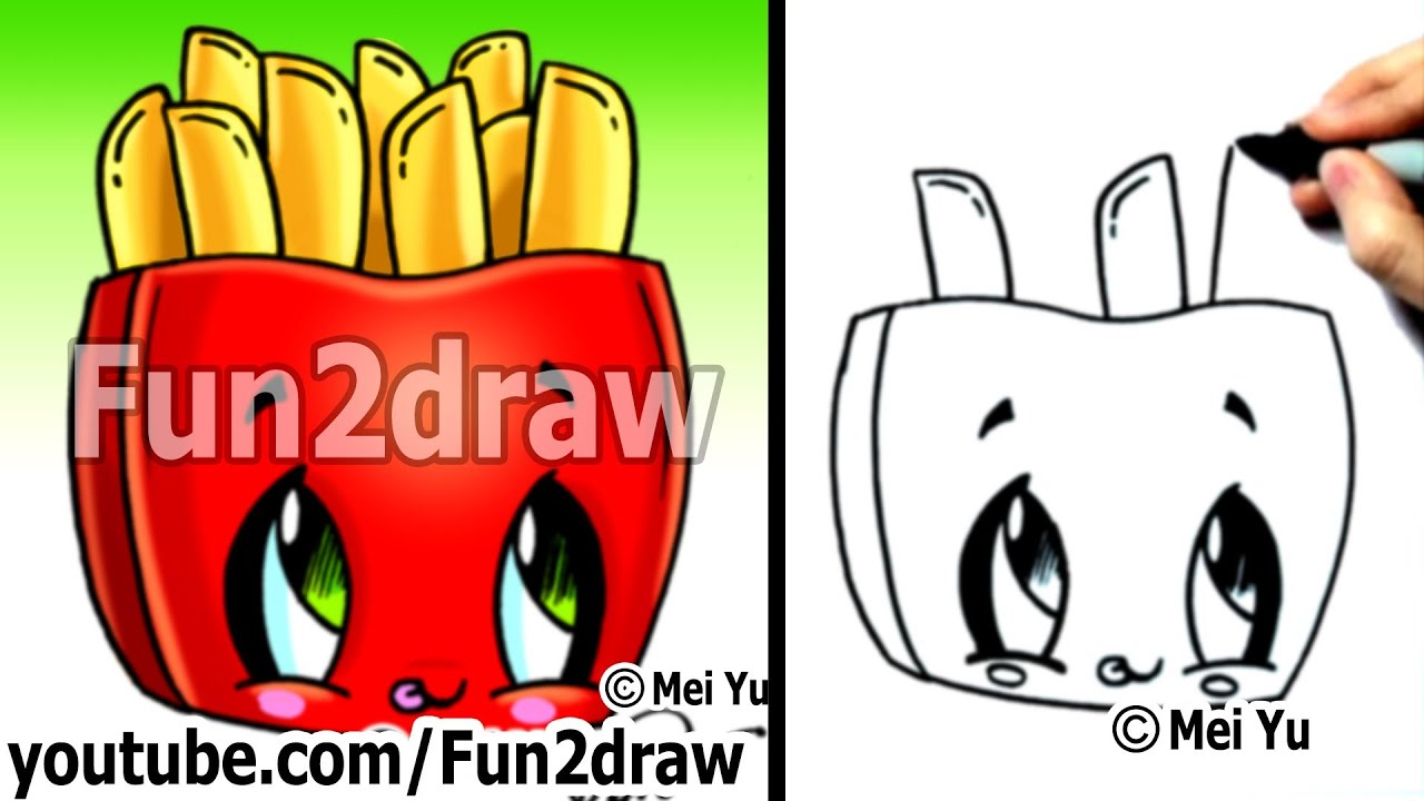 Free coloring pages of fun2draw fun food