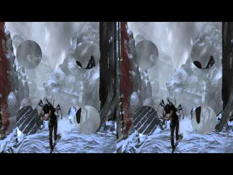 ╞ S3ᴰ ╡[Tomb Raider] Stereoscopic Slideshow (3D Video)