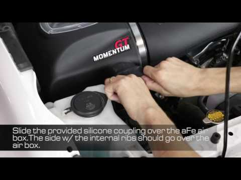 How To Install aFe Power 2016 Toyota Tacoma V6-3.5L Momentum GT Intake System Scoop 54-76005-S