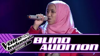 Aulia - Stand By You | Blind Auditions | The Voice Kids Indonesia Season 3 GTV 2018