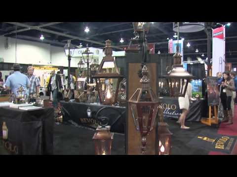 Bevolo Gas & Electric Lights 2015 International Builders Show