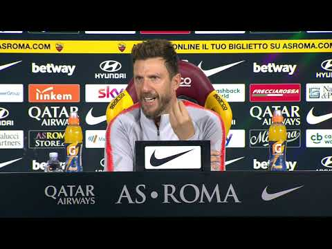 VIDEO - Roma-Inter, la conferenza di Di Francesco: